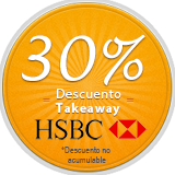 Takeaway 30% Descuento HSBC